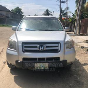 Honda Pilot 2006 EX-L 4x4 (3.5L 6cyl 5A) Silver | Cars for sale in Lagos State, Ajah