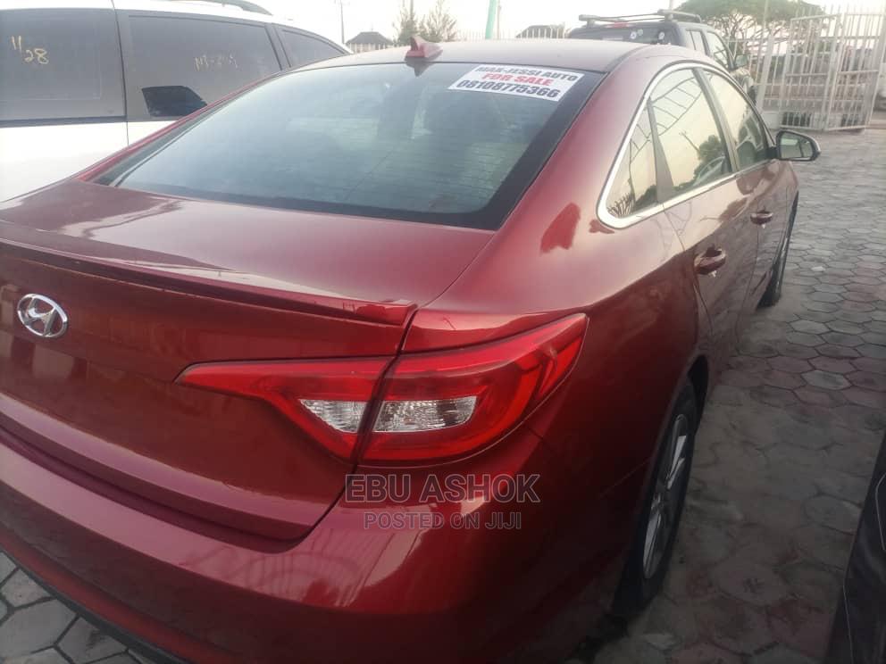 Hyundai Sonata 2015 Red | Cars for sale in Ajah, Lagos State, Nigeria