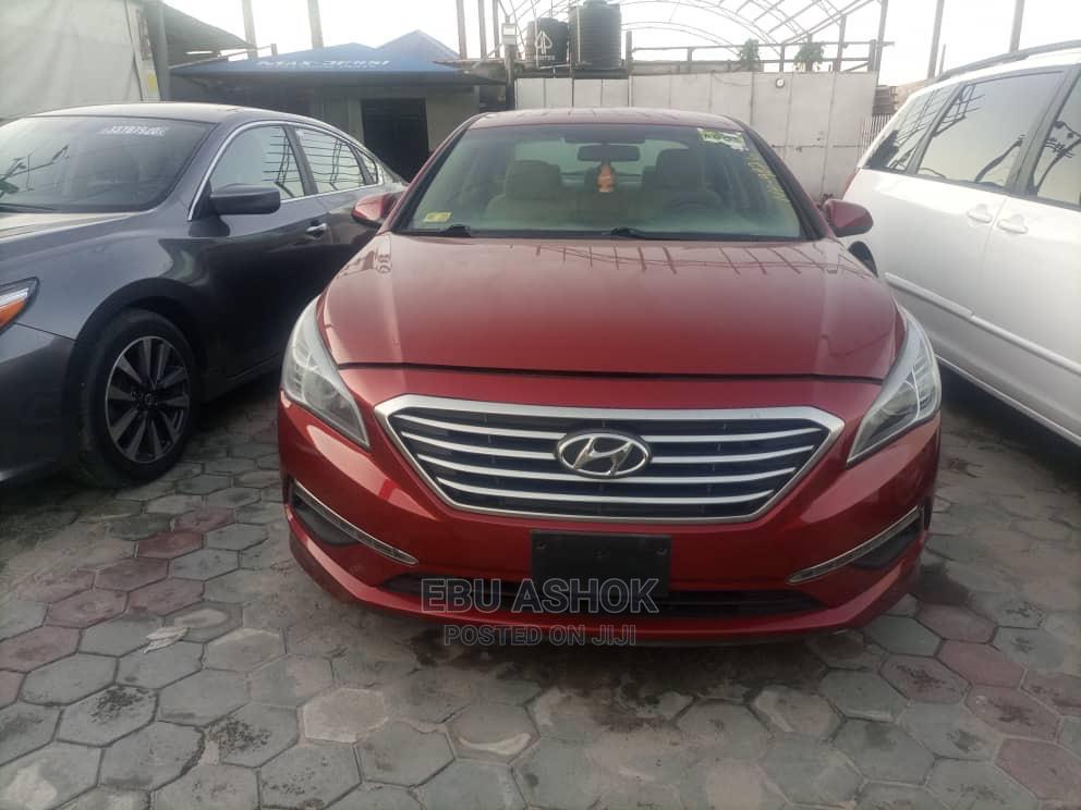 Hyundai Sonata 2015 Red