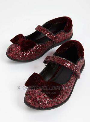 Girls Plum Glitter Party Shoes | Children's Shoes for sale in Lagos State, Surulere