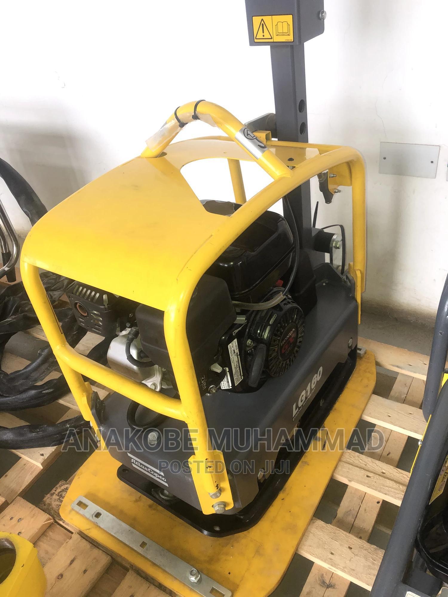 160kg Forward Reversible Plate Compactor 2017