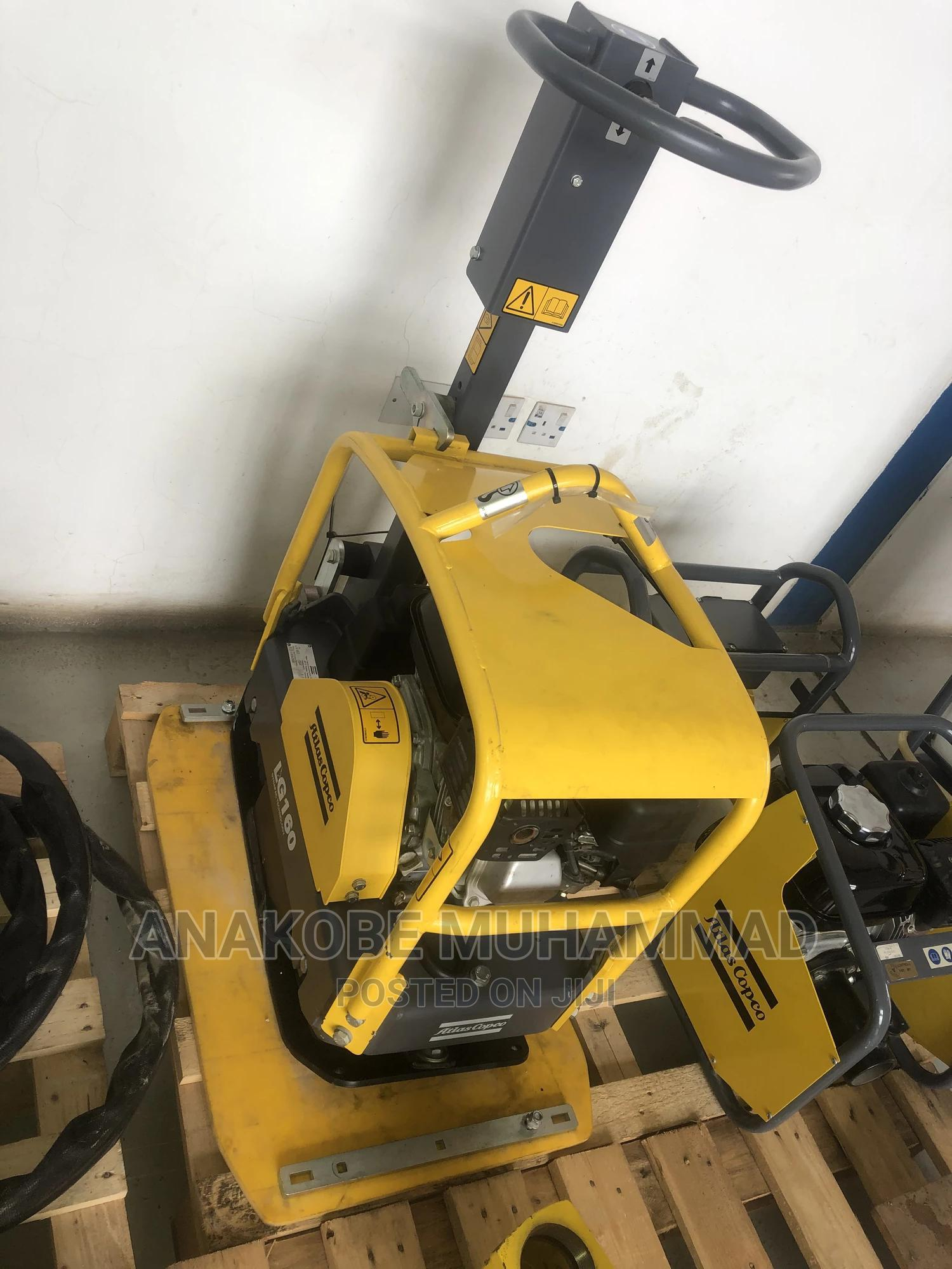 160kg Forward Reversible Plate Compactor 2017   Heavy Equipment for sale in Idu Industrial, Abuja (FCT) State, Nigeria