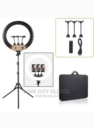 """Ringlight 18""""/42cm With Remote for Makeup Video Youtubing   Accessories & Supplies for Electronics for sale in Lagos State, Isolo"""