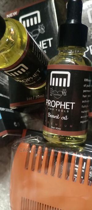 Prophets Mens Beard Oil (Proo1)   Hair Beauty for sale in Edo State, Benin City