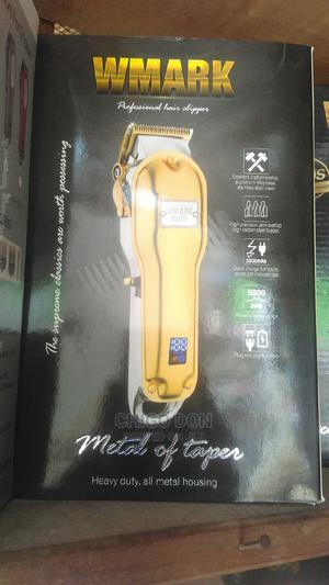 Rechargeable Professional Barbing Hair Clipper High Speed | Tools & Accessories for sale in Lagos State, Lagos Island (Eko)