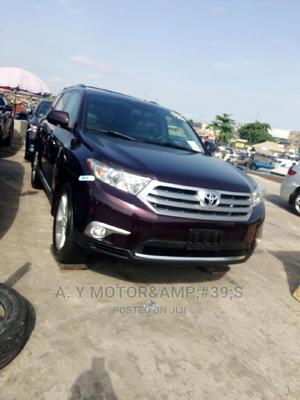 Toyota Highlander 2013 Limited 3.5l 4WD Red   Cars for sale in Lagos State, Apapa