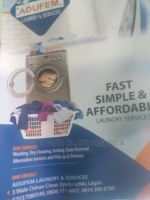 Adufem Laundry and Dry Cleaning Services   Cleaning Services for sale in Lagos State, Ajah