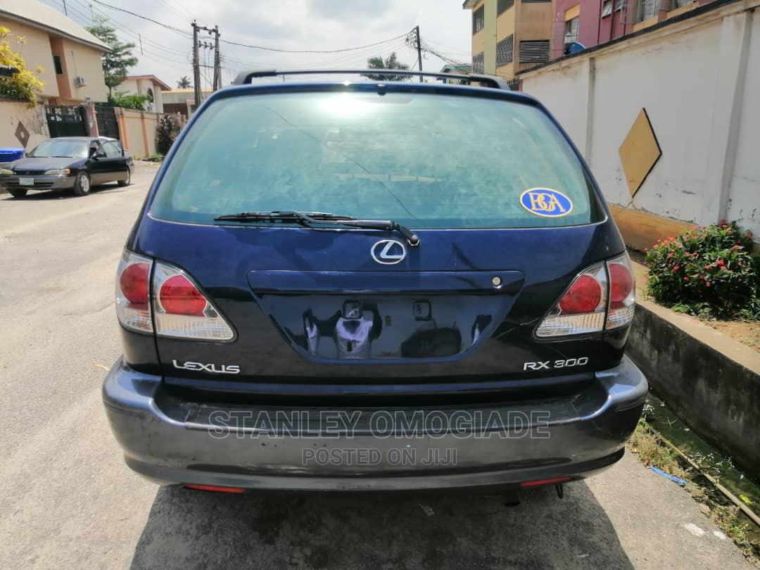 Lexus RX 2002 Blue | Cars for sale in Yaba, Lagos State, Nigeria