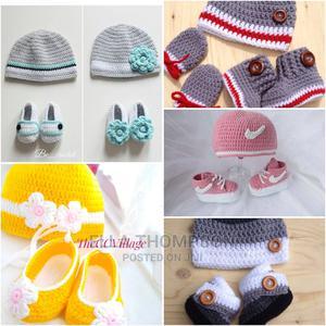 Crochet Cap Shoe | Children's Clothing for sale in Lagos State, Ojodu