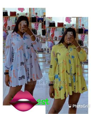 Ladies Quality Short Shirt Gown   Clothing for sale in Lagos State, Ikeja