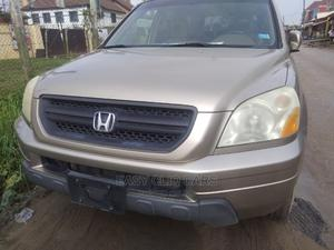 Honda Pilot 2002 Gold | Cars for sale in Lagos State, Amuwo-Odofin