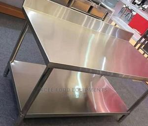 Stainless Steel Working Table 5ft   Restaurant & Catering Equipment for sale in Lagos State, Ojo