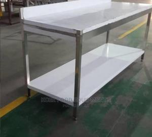 New Stainless Steel Work Table 6ft   Restaurant & Catering Equipment for sale in Lagos State, Ojo