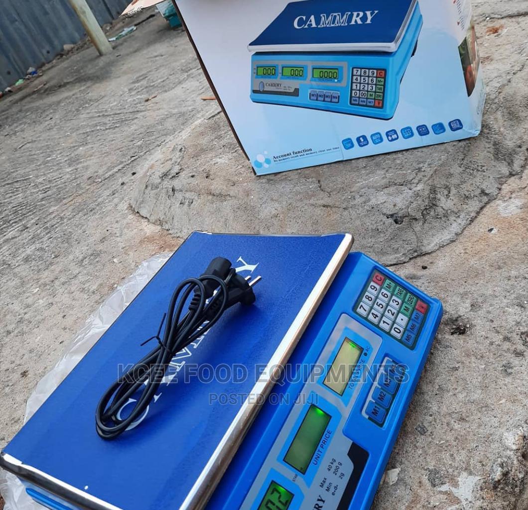 30kg Digital Camry Scale
