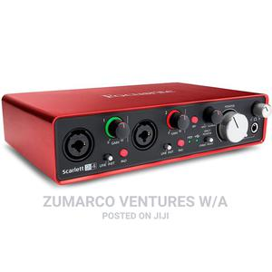 Focusrite Scarlett 2i4 (2nd Gen) USB Audio Interface   Audio & Music Equipment for sale in Lagos State, Lekki