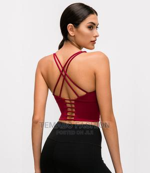 Women Sports Bra Higher Impact For Fitness And Yoga Running   Clothing for sale in Lagos State, Ogba