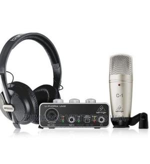 Behringer Uphoria Studio Complete Recording Bundle | Accessories & Supplies for Electronics for sale in Lagos State, Lekki