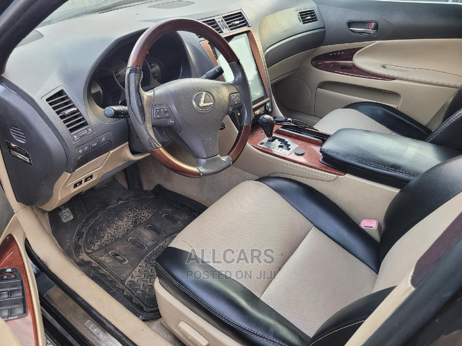 Lexus GS 2008 300 Automatic Black | Cars for sale in Yaba, Lagos State, Nigeria