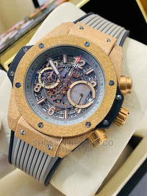 Hublot Rubber Strap Luxury Wrist Watch | Watches for sale in Lagos State, Lagos Island (Eko)