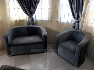 Double Seater Chairs (Fabric Velvet)   Furniture for sale in Lagos State, Ikoyi