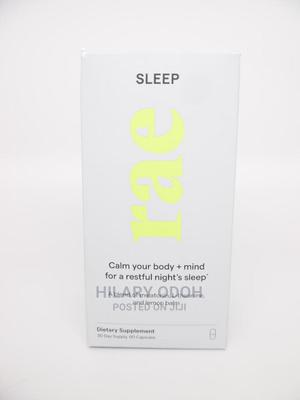 Rae Sleep Dietary Supplement Capsules - Melatonin, L-Theanin | Vitamins & Supplements for sale in Lagos State, Ojo