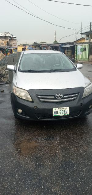 Toyota Corolla 2009 1.8 Advanced Silver | Cars for sale in Lagos State, Oshodi