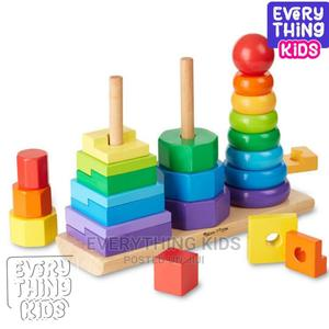 Geometric Stacker Toddler Toy   Toys for sale in Lagos State, Ikeja