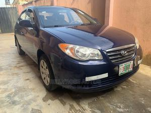 Hyundai Elantra 2008 1.6 GLS Automatic Blue | Cars for sale in Lagos State, Ogba
