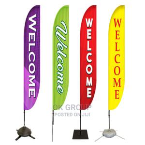 Flag/Feather/Teardrop Banners Printers In Lagos Nigeria. | Printing Services for sale in Lagos State, Lekki