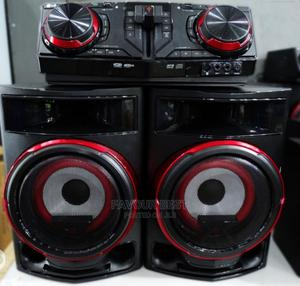 Powerful Bass (LG) Xboom 2350watt Bluetooth (CL87) Warranty | Audio & Music Equipment for sale in Lagos State, Ojo