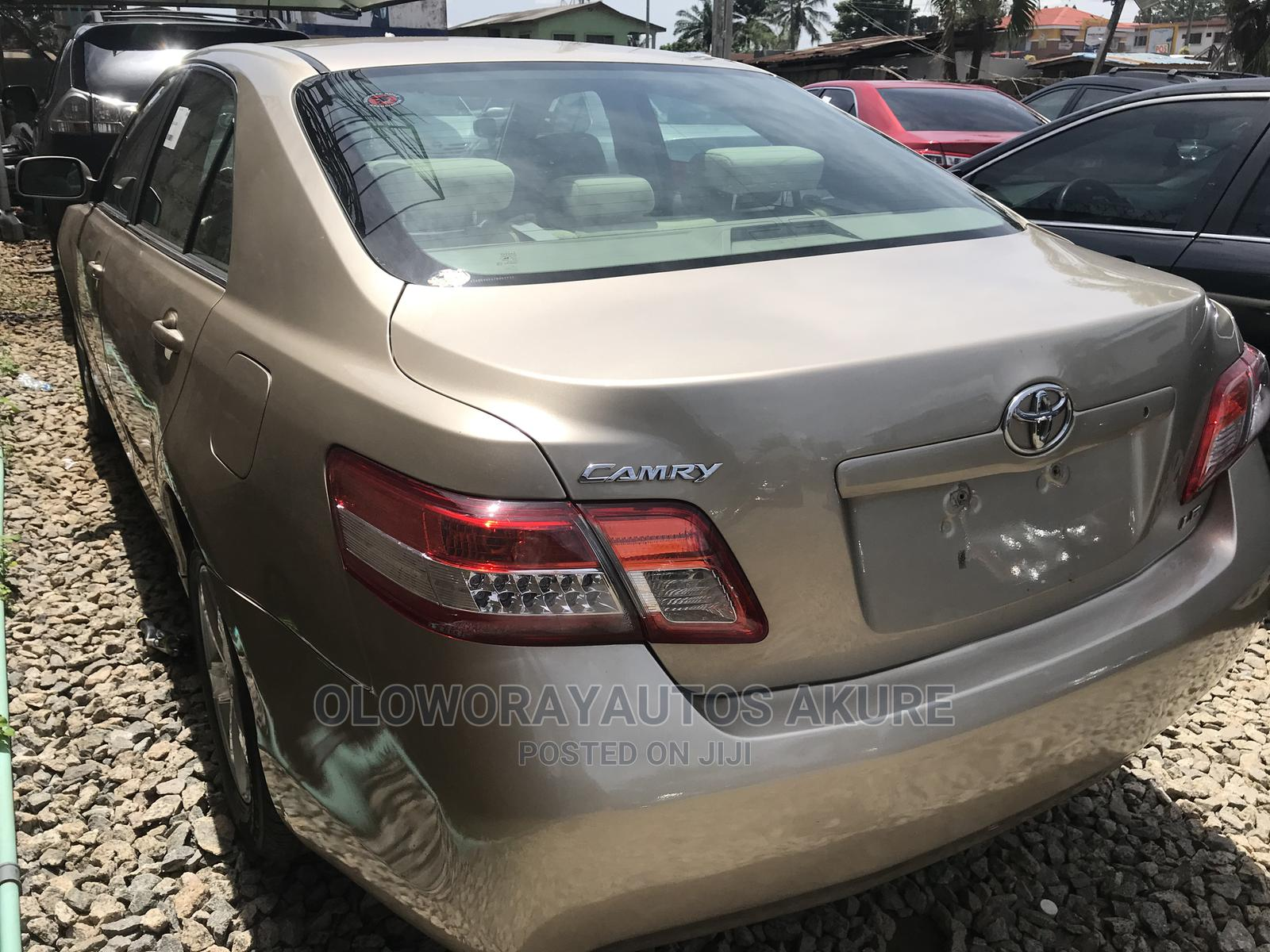 Toyota Camry 2007 Gold   Cars for sale in Akure, Ondo State, Nigeria