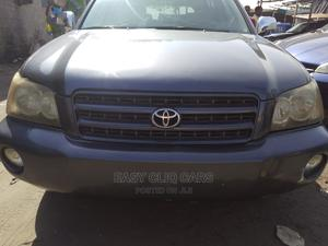 Toyota Highlander 2003 V6 AWD Blue | Cars for sale in Lagos State, Amuwo-Odofin