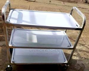 Bread Trolley 3 Steps | Restaurant & Catering Equipment for sale in Lagos State, Ojo