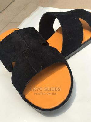 Male Leather Slides   Shoes for sale in Lagos State, Ikeja