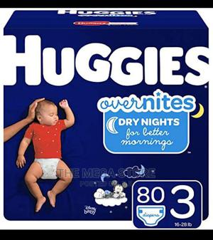 Huggies Overnites Diaper Size 3   Baby & Child Care for sale in Lagos State, Surulere