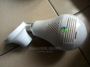 360° Smart Bulb Camera for Sale   Security & Surveillance for sale in Delta State, Uvwie