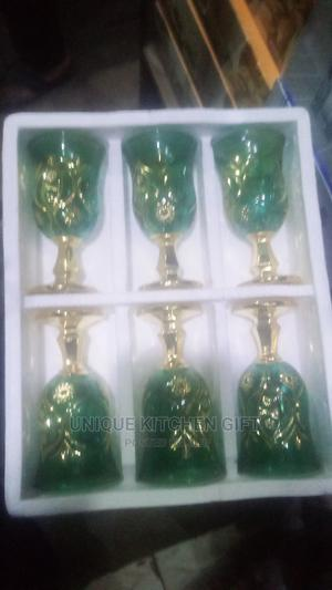 Golden Wine Glass | Kitchen & Dining for sale in Lagos State, Lagos Island (Eko)