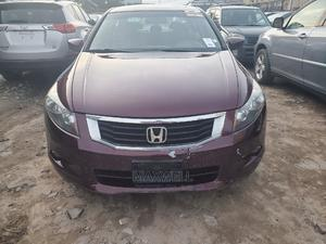 Honda Accord 2009 EX V6 Automatic Red   Cars for sale in Lagos State, Amuwo-Odofin