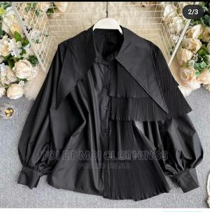 Black Step Side Shirt   Clothing for sale in Lagos State, Surulere