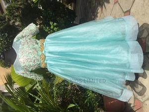 Teal Sequence Ball Dress   Children's Clothing for sale in Lagos State, Lekki