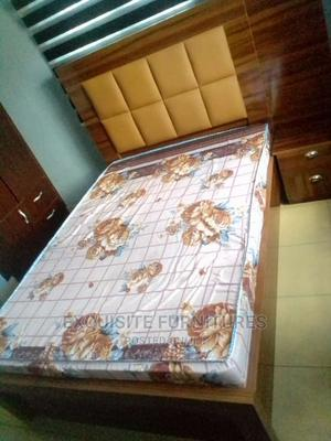 Bed and Foam and Side Bed | Furniture for sale in Rivers State, Port-Harcourt