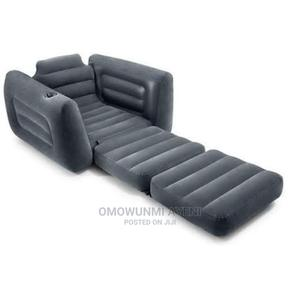 Intex Inflatable Pull-Out Sofa Bed/Chair, Single | Furniture for sale in Lagos State, Ikeja