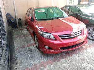 Toyota Corolla 2010 Red | Cars for sale in Lagos State, Amuwo-Odofin