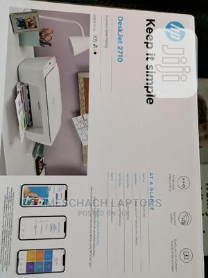 Hp Deskjet 2710 All-In-One Wireless Printer   Printers & Scanners for sale in Lagos State, Ikeja