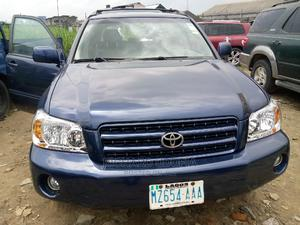 Toyota Highlander 2003 Limited V6 AWD Blue | Cars for sale in Rivers State, Port-Harcourt