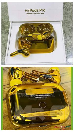 Apple Airpod Pro Gold. Airpod Pro. New Gold Apple Airpod Pro | Accessories for Mobile Phones & Tablets for sale in Lagos State, Isolo