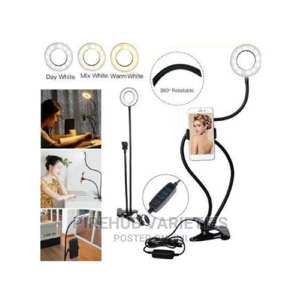 Professional Live Streaming Ring Light With Phone Holder