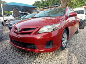 Toyota Corolla 2012 Red   Cars for sale in Abuja (FCT) State, Central Business District