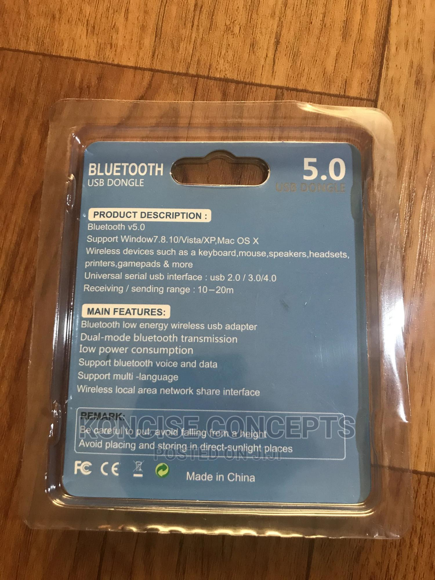 5.0 Bluetooth USB Dongle   Accessories & Supplies for Electronics for sale in Lekki, Lagos State, Nigeria