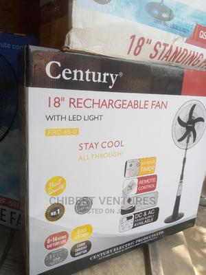 Century Rechargeable Standing Fan   Home Appliances for sale in Lagos State, Ojo